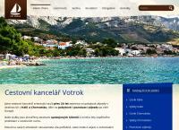 Web stránka Hynek Souček - Cestovní kancelář VOTROK je