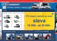 Web stránka AC DODÁVKY, s.r.o. je