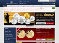 Web stránka Národní Pokladnice S.r.o. je