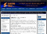 Web stránka Elektro Fiala s.r.o. je