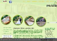 Web stránka Lesní penzion Prátr Třeboň je