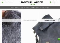 Web stránka Moveup Fashion je