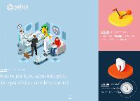 Web stránka Salius Medical Group je