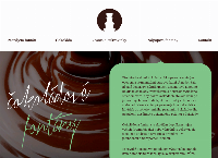 Web stránka cokoladovefontany je
