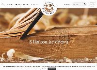 Web stránka Ing. Daniel Volařík - dřevomodelářství je