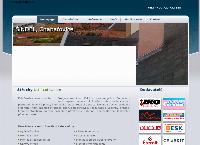 Web stránka Střechy Petr Svašek je