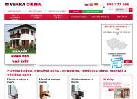 Web stránka Window Holding a.s. je