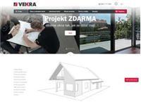 Web stránka Vekra Okna je